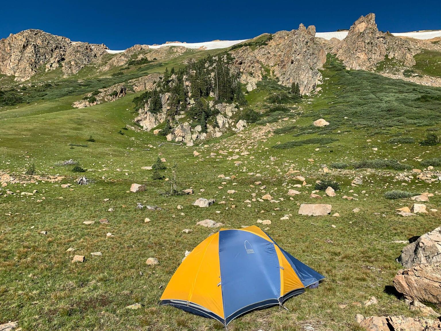 campsite selection tips tent photos