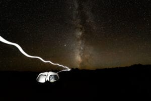camping lighting photo