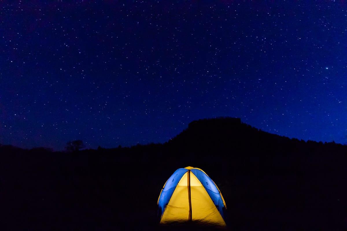 camping checklist photo